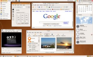 Screenshot Ubuntu 8.04