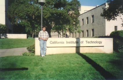 Di Kampus Caltech, Juni 1996.