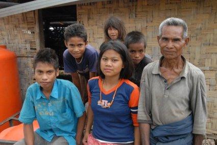 Wajah-wajah penduduk desa Sumba.